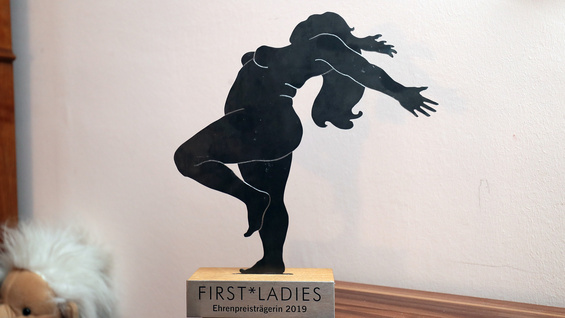 """First Ladies""-Ehrenpreis 2019."