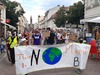 Demo von Fridays for Future Potsdam in der Brandenburger Straße.