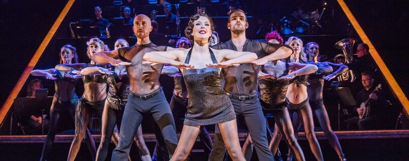 """And all that Jazz"": ""Chicago""- Musical, im Admiralspalast Berlin."